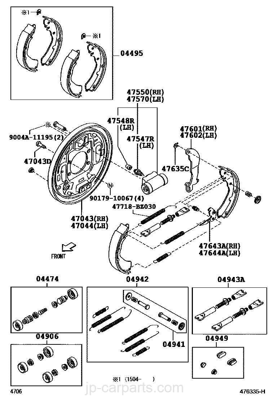 Zubehörsatz Mâchoires Quick Brake 105-0750